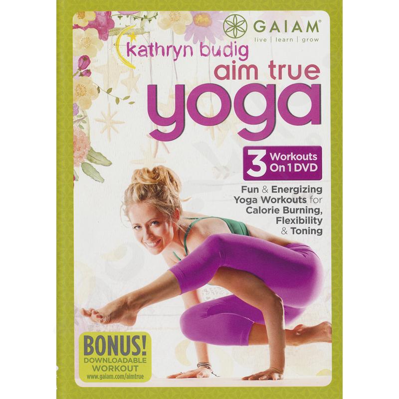 Aim True Yoga – Kathryn Buding – DVD