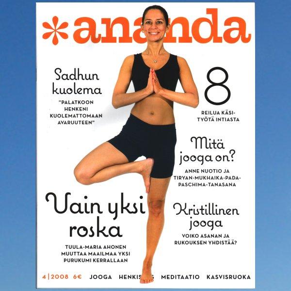 Ananda lehti – numero 4/2008