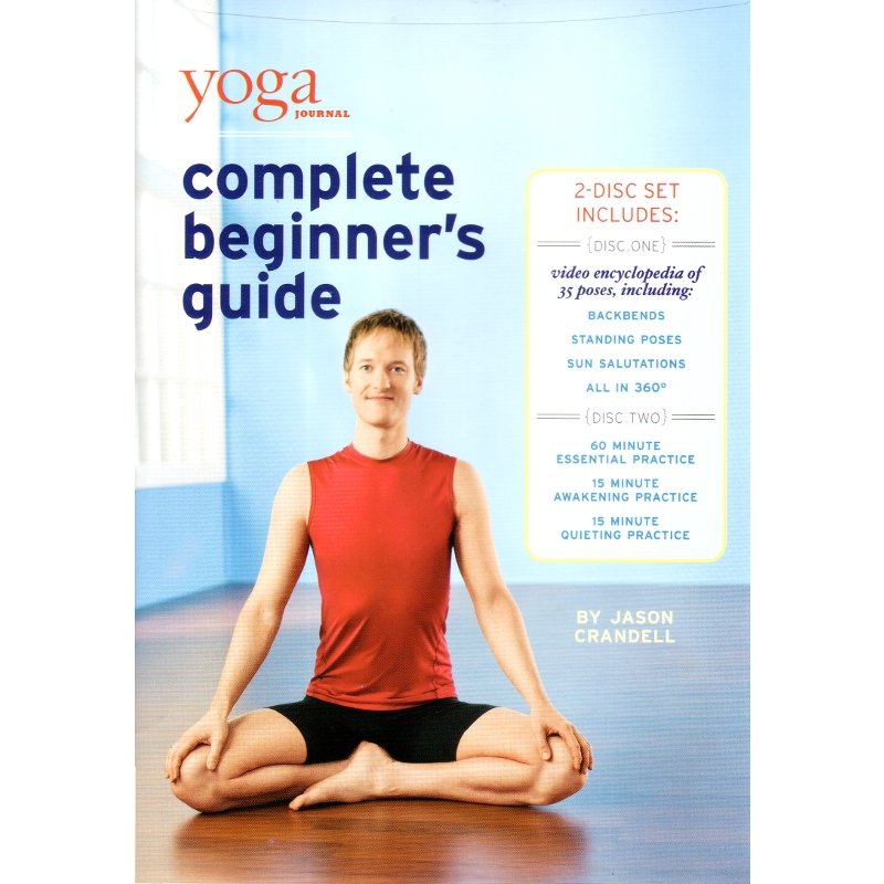Yoga Journal's Complete Beginners Guide with Pose Encyclopedia – Jason Crandell -DVD