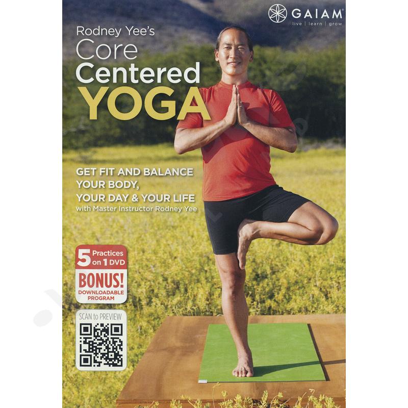 Core Centered Yoga – Rodney Yee – DVD