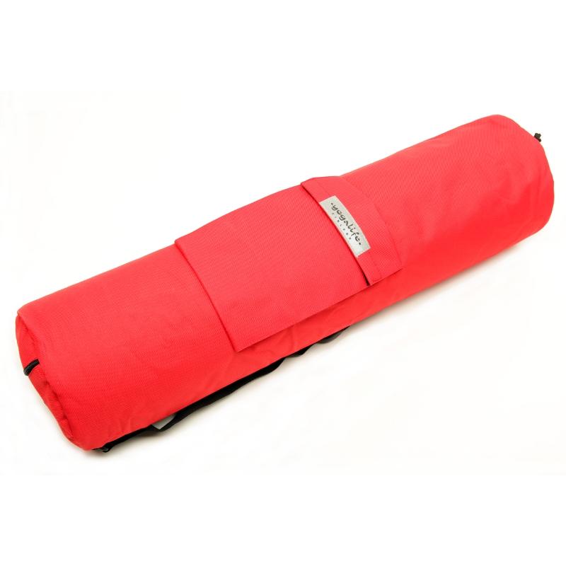 Mattoreppu reppukankaasta punainen Yogalife