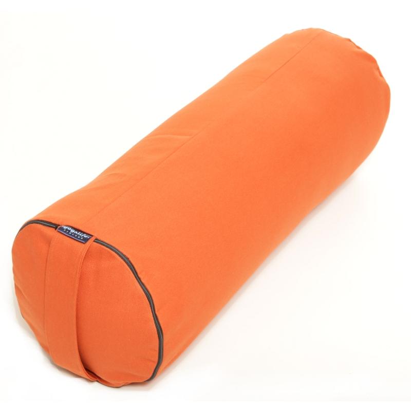 Bolster -Putkityyny – KAPOK täyte -Oranssi – Yogalife