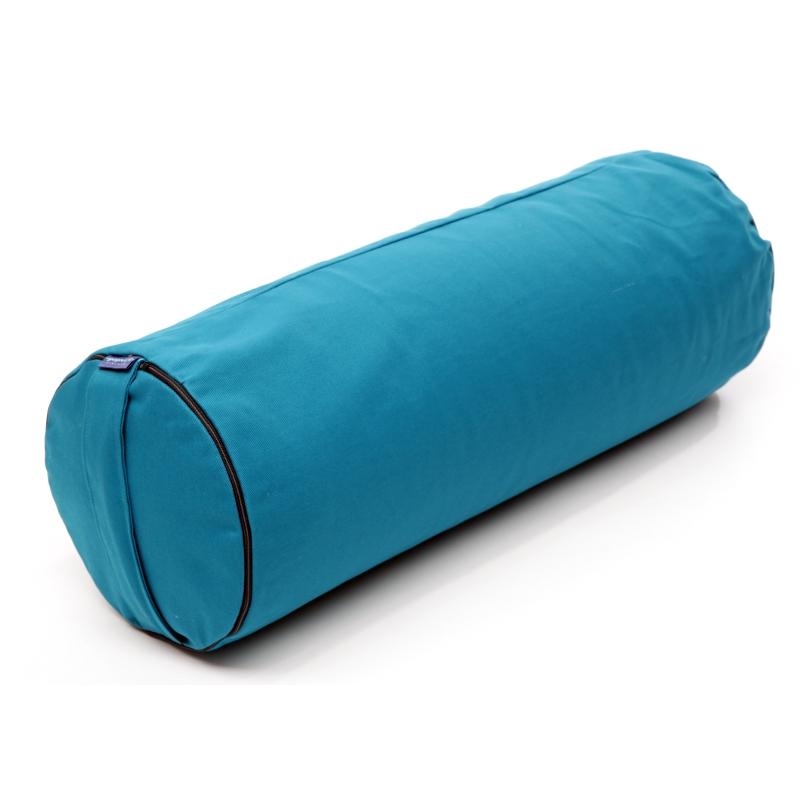 Bolster -Putkityyny – KAPOK täyte  Turkoosi – Yogalife