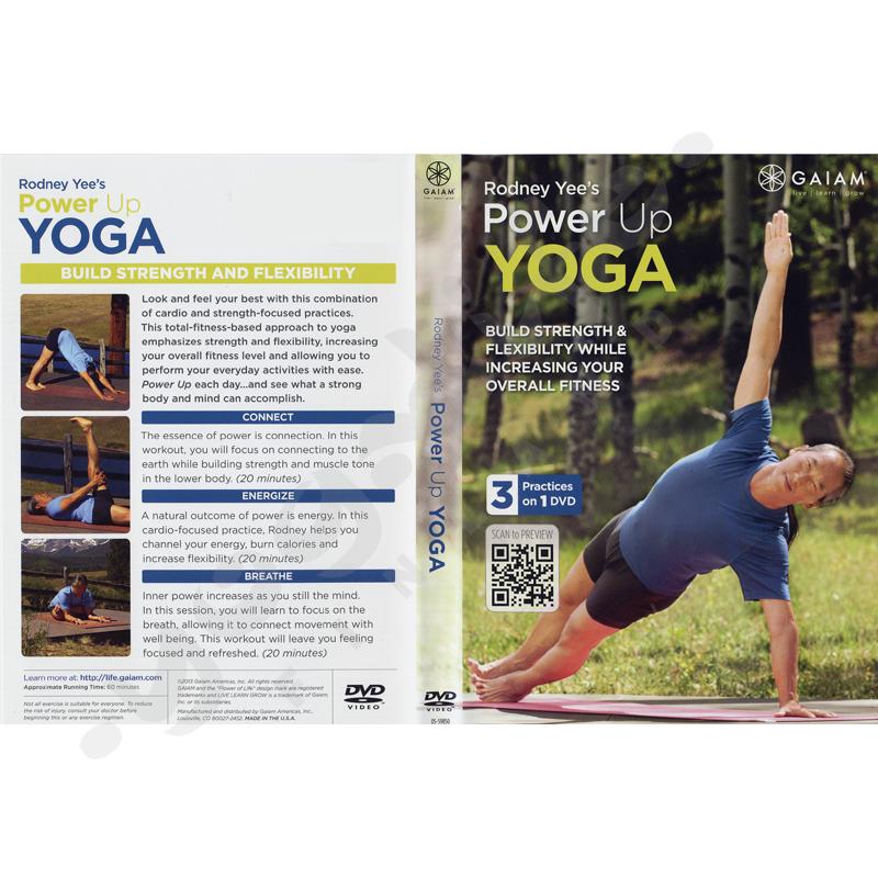 Power up yoga  – Rodney Yee – GAIAM – DVD