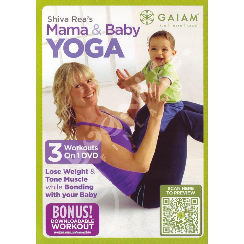 Mama & Baby Yoga – Shiva Rea – DVD