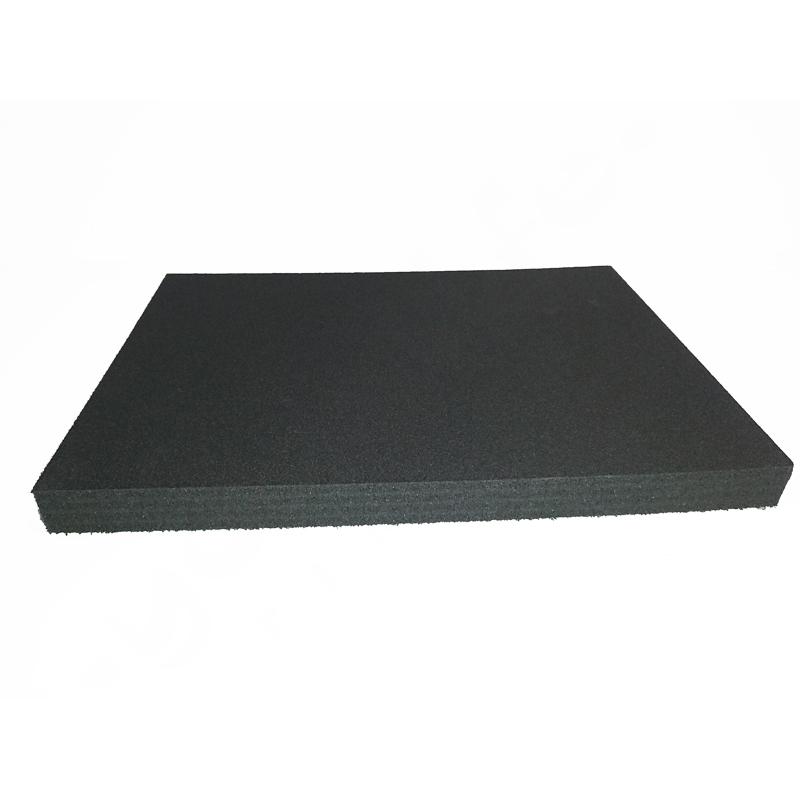 Tukilevy ISO- solumuovi – tummanharmaa – Yogalife