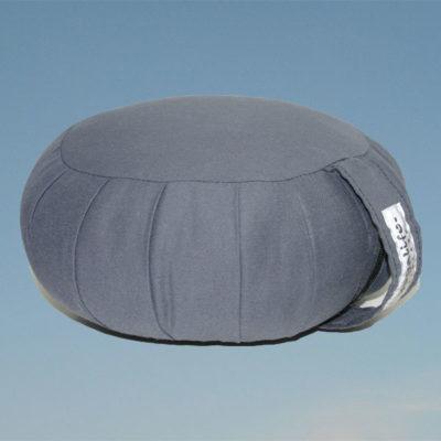 Zafu meditaatiotyyny – KAPOK täyte – harmaa 750g – Yogalilfe