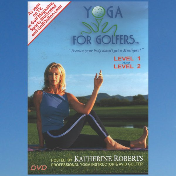 Yoga for Golfers: Level 1 & 2 – Kathrine Roberts – DVD
